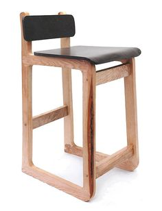 Breakfast barstool -from Curface made for coffee grounds and High Impact Polysterene. Uses For Coffee Grounds, Coffee Uses, Plywood Furniture, Diy Furniture, Furniture Design, Coffee Table With Chairs, Patterned Armchair, Furniture Inspiration, Furniture Making