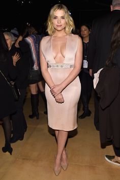 Ashley Benson & Vanessa Ray Stun at New York Fashion Week 2015: See the Photos!
