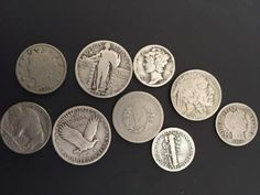 See Old Coin Values - Have old coins worth money? Find out here! See the value of old coins made in the Got old coins? What's an old coin's value today? You can find the value of old coins by using this comprehensive list for coins made between 1900 and Us Coins, Gold Coins, Silver Coins Worth, Old Coins Worth Money, Old Coins Value, Rare Pennies, Valuable Coins, Valuable Pennies, Coin Worth