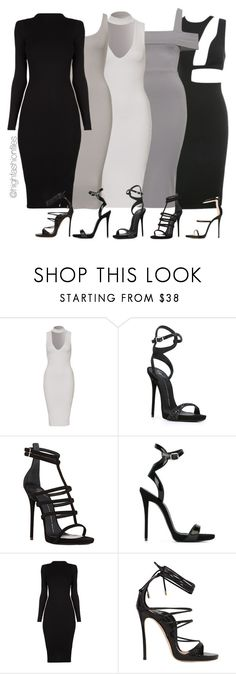 """""""Squad:"""" by highfashionfiles ❤ liked on Polyvore featuring Giuseppe Zanotti and Dsquared2"""