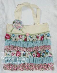 My Fabulous Friday ribbon tote bag