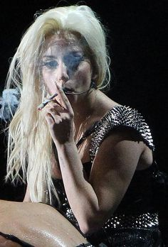"""""""I want you to know it has totally changed my life and I've really cut down on drinking. It has been a totally spiritual experience for me with my music,"""" she says of smoking."""
