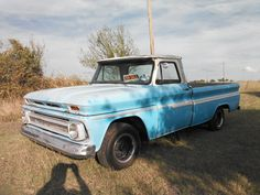 For Sale in Forney TX 66 Chevy long bed