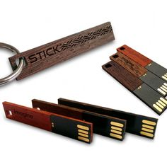 THE STICK Custom wood USB flash drive  | usb 3.0 8~64GB | Handmade | Mahogany, Wenge,Merbau wood | FREE engraving great for Gift Idea, Birthday Gift, Promotional usb, Custom usb drives for photographers or any special occasion by ZaNaDesignEtsy on Etsy