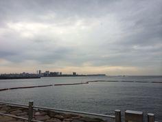 曇天 夜明け 2014.10.02