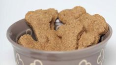 PEANUT BUTTER BONES  If you are looking for the healthiest diet for your canine, the best way to monitor what your dog eats is homemade dog food and treats.