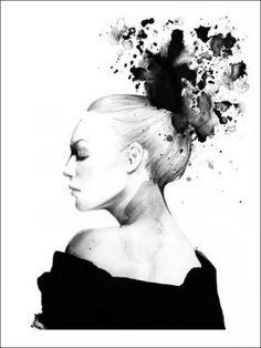 NOVIE print by Magdalena Tyboni at Grøn + White