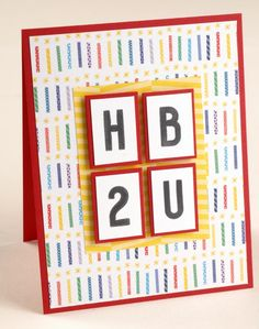 Bring on a Paper Party With These DIY Birthday Cards – Creative Memories Blog
