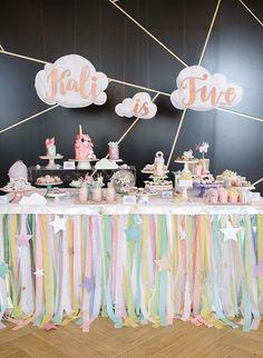 Lugballon tafel dekor