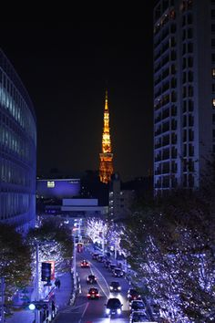 Tokyo tower from Roppongi