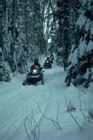 Snowmobiling in St Germain, Wi  Absolutely Beautiful!