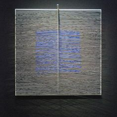 Jesus Rafael Soto, Cuadrado virtual cobalto (Carré virtuel bleu), 1978 - 1979 | Flickr - Photo Sharing!