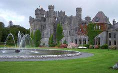 castle ireland   Ashford Castle,Ireland( A medieval castle)