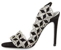 Rene Caovilla's Latest Stunning Jeweled Sandals