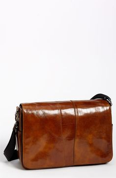 Bosca Leather Messenger Bag available at #Nordstrom