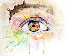 Ojos en acuarela y Algo más
