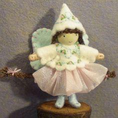 Bendy doll - butterfly fairy