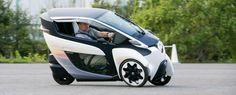 #PuroMotor Mitad moto, mitad carro, el Toyota i-Road ya rueda en fase de pruebas en Tokio  http://www.puromotor.com/industria/4234-el-toyota-i-road-ya-rueda-en-pruebas-en-tokio