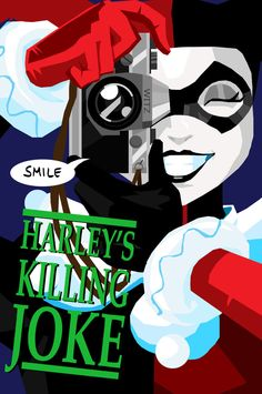 Harley's Killing Joke by memorypalace.deviantart.com on @deviantART