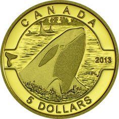 5 Dollar Gold O Canada - Orca UN
