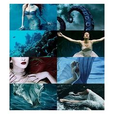 The Little Mermaid Disney ❤ liked on Polyvore featuring backgrounds