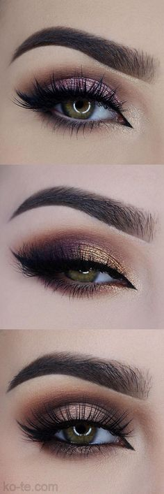 Eye makeup | ko-te.com by @evatornado |