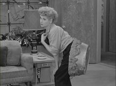I Love Lucy ~ Lucy Stuck In Cement ~ Hollywood Episode