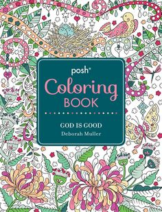Amazon Posh Adult Coloring Book God Is Good 9781449478001