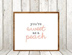 Couldn't get more perfect for Peach. :)