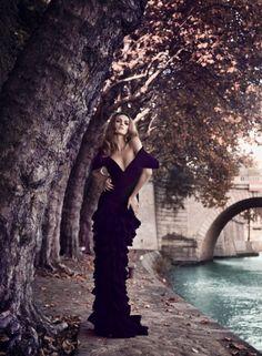 """""""f-l-e-u-r-d-e-l-y-s:  Milena Milovanovic for Kurv Magazine Kurv Magazine by Michele Bloch Stuckens   """""""