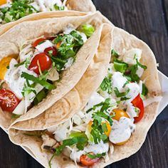 Fish Tacos with grilled marlin – delicious, fresh and healthy.