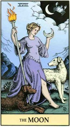 Alchemical Tarot - The Moon