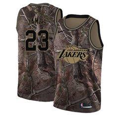 Nike Los Angeles Lakers  23 LeBron James Camo NBA Swingman Realtree  Collection Jersey La Lakers 3e15afba2