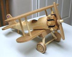 Wood Airplanes - The Dale Maley Family Web Site