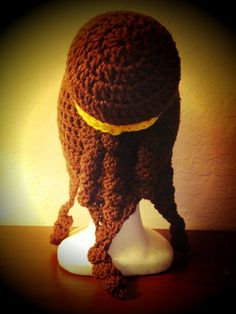 Belle Crochet Hat this is perfect for little girls going through chemo.