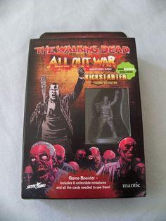 The Walking Dead: All Out War Miniatures Game KICKSTARER MINIS negan abraham mor #Mantic