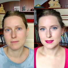 Llamakeup: Before&after weselnie