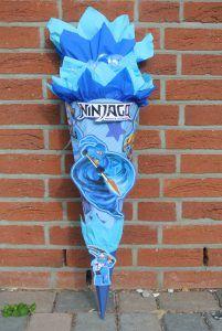 Wunschschultüte Ninjago | design Schultüten by Bastelwonny.de Ninjago Party, Hanukkah, Design, Ideas, Lego Ninjago Figures, School Children, Back To School, Kid Games, Entering School