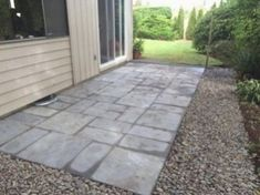 Nantucket fertiger patio-auf-einer-palette. X in. Und in. X in. Tan-bunt flechtmuster yorkstone konkrete fertiger paletten-of - the home depot Brick Paver Patio, Paver Walkway, Concrete Pavers, Brick Patios, Walkways, Driveways, Stone Walkway, Outdoor Pavers, Driveway Paving