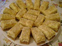 Prăjitură cu nucă și ness Apple Pie, Biscuit, Desserts, Food, Cakes, Simple, Pies, Meal, Apple Cobbler