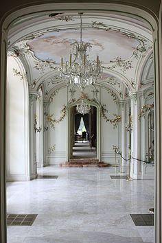 Fertöd- château Esterhaza, Sala Terrena/ Esterházy Palace, Fertőd, Hungary