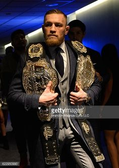 News Photo : UFC featherweight and lightweight champion conor mcgregor