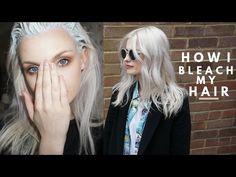 HOW TO BLEACH YOUR HAIR! - YouTube