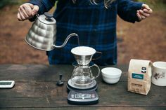 Brew the best cup of coffee with a Kalita Wave and Stumptown Coffee - Step by step instructions for this brew method.