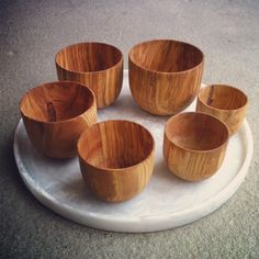 Gorgeous! Roost olive wood bowls. @providehome