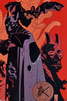Batman by Mike Mignola …