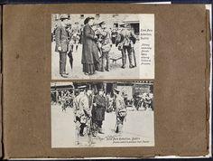 Mr and Mrs Cotter visiting Richmond Barracks 1916 - Digital Repository of Ireland Ireland 1916, Easter Rising, Polaroid Film, Baseball Cards, Digital, Women, Women's