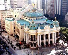 Rio de Janeiro Municipal Theater, Rio de Janeiro-RJ, Brazil
