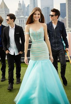 Girls Rock for Prom 2015 with Before You Exit! Dresses and Gowns by Camille La Vie    #beforeyouexit #camillelavie #prom #dresses