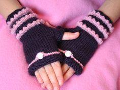 Fairytale Fingerless Mittens by Amanda Lilley
